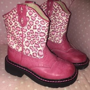 Pink child's Roper boots size9 , worn very little